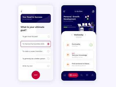 Online Learning App ui design uiux ui creative trends clean ui mobile app course app learning app online learning education app ios app