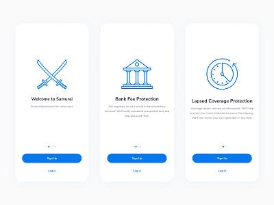Wallet App creative clean minimal intro screen onboarding mobile app branding 3d ui mobile banking finance wallet