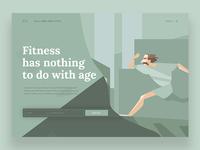 Fitness Booking Slider Design