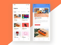 E Commerce App Design