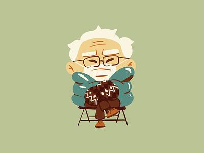 Cozy mittens the bern bernie sanders bernie