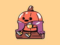 Mr.Pumpkin and PSL