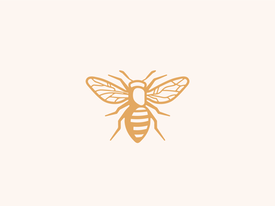 Bee honey bee honey logo honeybee farm honey label bee logo insect honey honeybee bee
