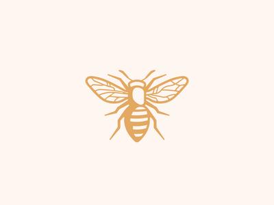 Bee honey bee honey logo honeybee farm honey label bee logo insect honey honeybee bee