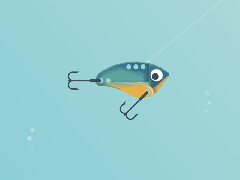Lures– Blade bait procreate lake fishing lure bass lure blade bait bass fishing