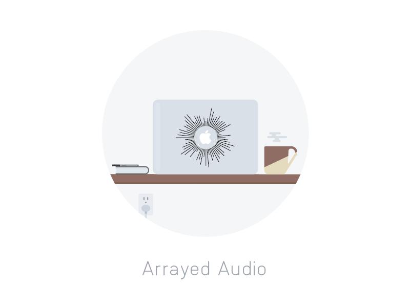 Arrayed Audio Decals vinyl decal arrayed audio mug coffee desk macbook decal etsy