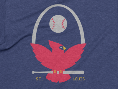 Redbird Baseball sports shirt sports bird redbirds stl cardinals st louis baseball