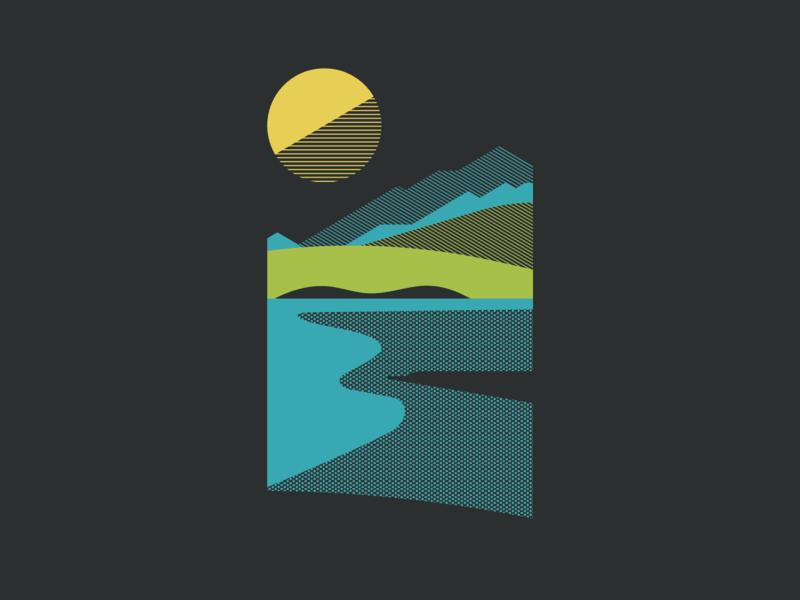 Pikes cb lake colorado springs colorado pikes peak pikes tshirt cotton bureau mountain