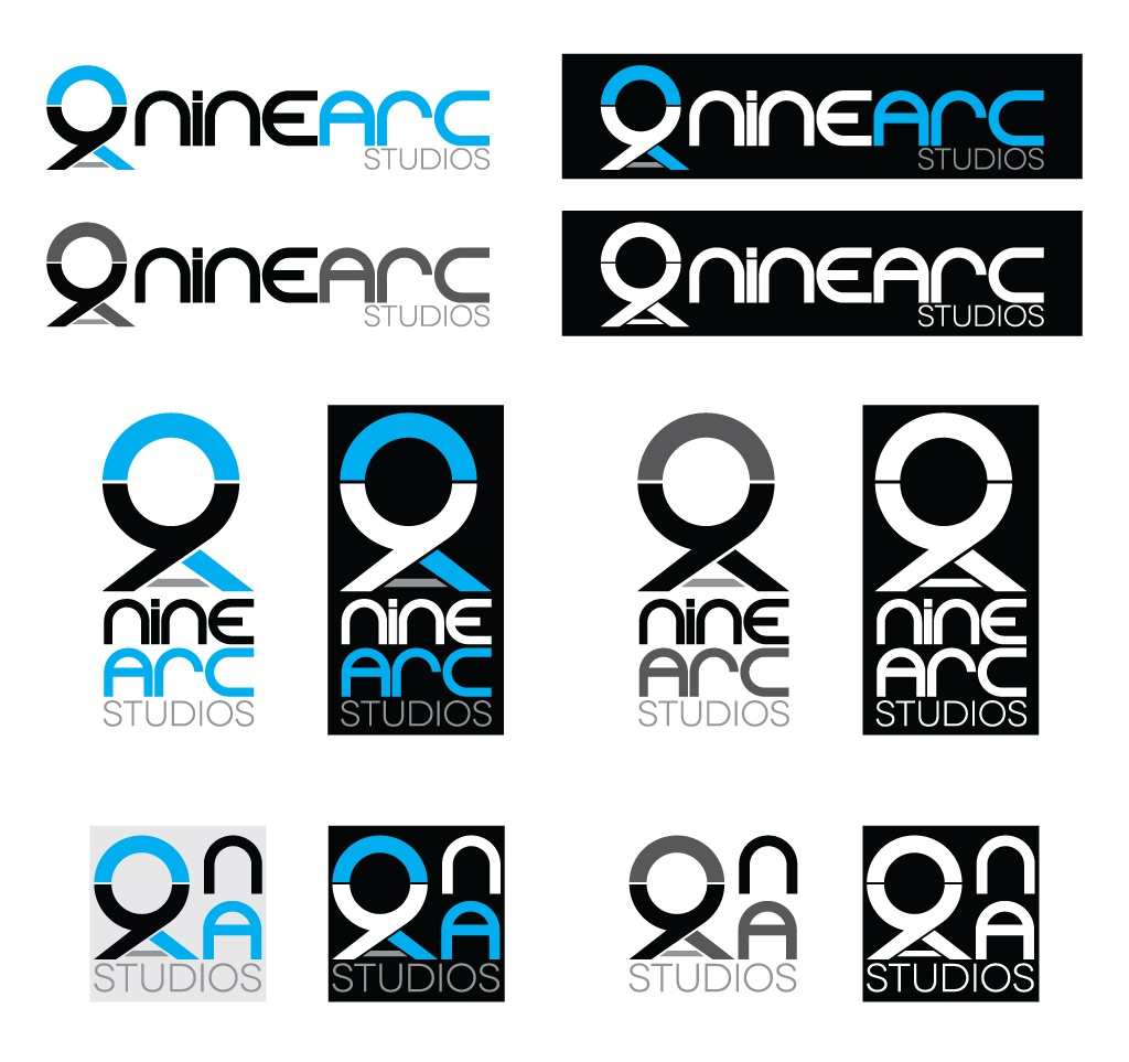 Ninearc logo spread