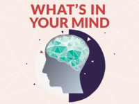 """What's In Your Mind"" Podcast Logo"