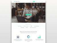 Budgeting App Landing Page