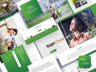 Engro Corp Website Redesign Concept