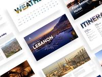 Brochure Design For Beirut Conference