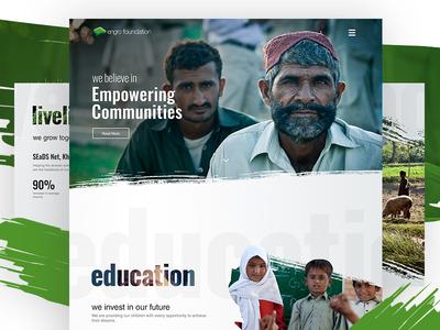 Engro Foundation Web Design