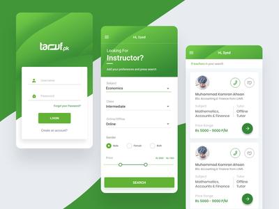 Taruf Social Media Mobile Application
