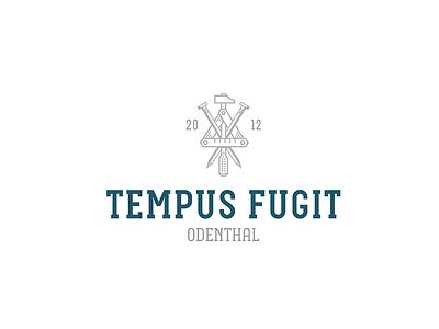 Tempus Fugit logo vector handwerk illustration branding ci design berlin aro christianschupp