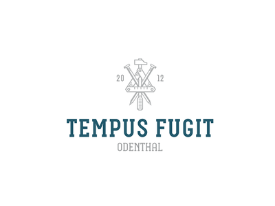 Tempus Fugit logo vector handwerk illustration branding ci design berlin aro christianschupp