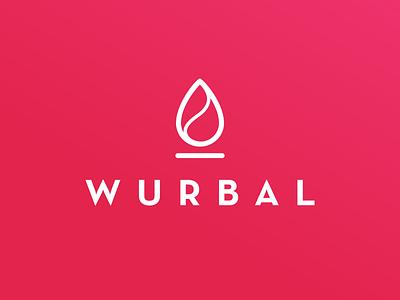 Wurbal Logo christianschupp berlin type aroone aro branding design logo