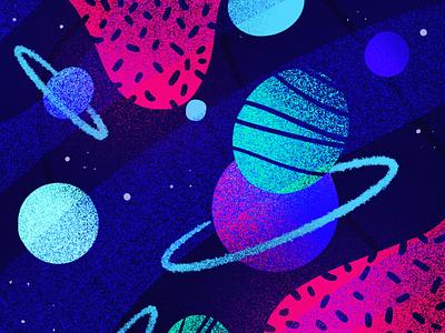 COSMOS pattern digitalpainting digitalart procreateapp procreate vector screen doodle design background illustration planet cosmos pattern