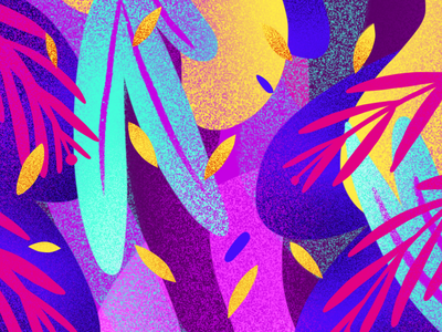 TROPICAL pattern doodle art concept procreateapp procreate digitalpaiting digitalart screen background pattern design illustration tropical
