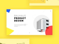 Bauhaus Product Design Website