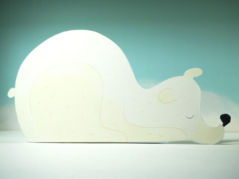 Bear illustration paper bear