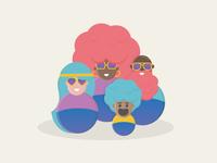 Funk Parade Characters
