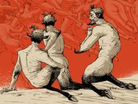 "William-Adolphe Bouguereau - ""The Oreads"" 1902"