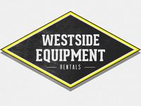 Equipment rental logo reiteration