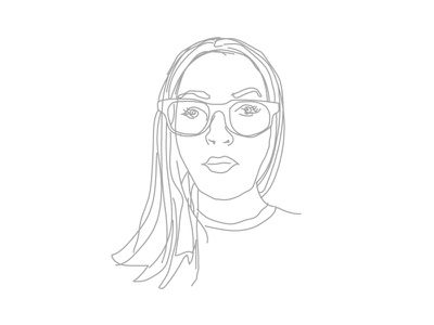 Leah - Portrait Illustration drawing illustration portrait