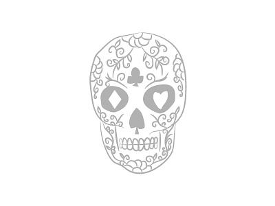 Candy Skull scary illustrator candy skull illustration