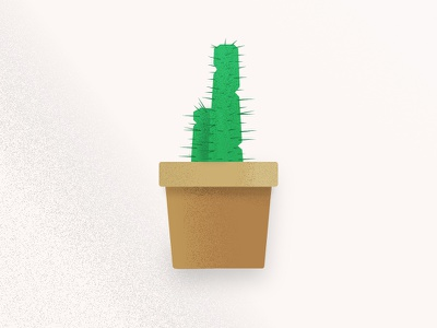 Texture Study (Cactus) drawing illustration study texture