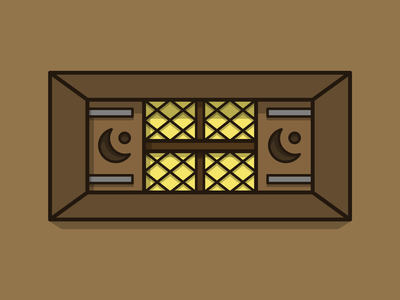 Goldshire tavern window