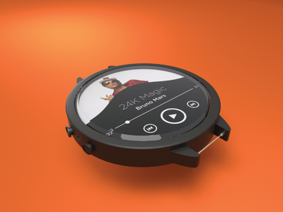 3D Model - Smartwatch Concept product concept blender moddeling 3d smartwatch watch