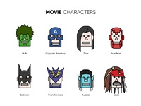 Movie character avatar