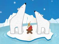 Holiday Polar Bears