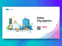 Lanxiniu Landing Page Illustration