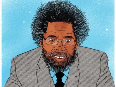 Dr. Cornel West Illustration