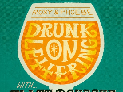 Thumbnail for Drunk On Lettering Episode procreate typography illustration handdrawntype handdrawn handlettering beer drunk thumnail podcast design lettering
