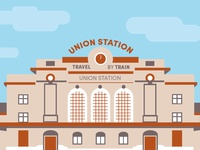 Union Station Illustration