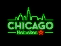 Heineken Chicacgo Neon Sign