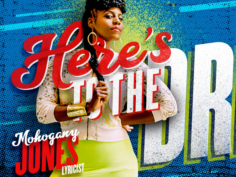 Here's to the Driven billboard dotscreen typography rapper