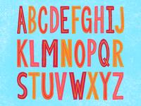 King Inline Letter Set