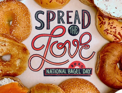 National Bagel Day Type