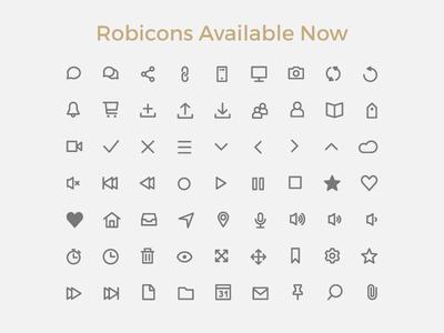 Robicons Font