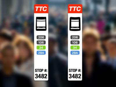 TTC Streetcar Stop