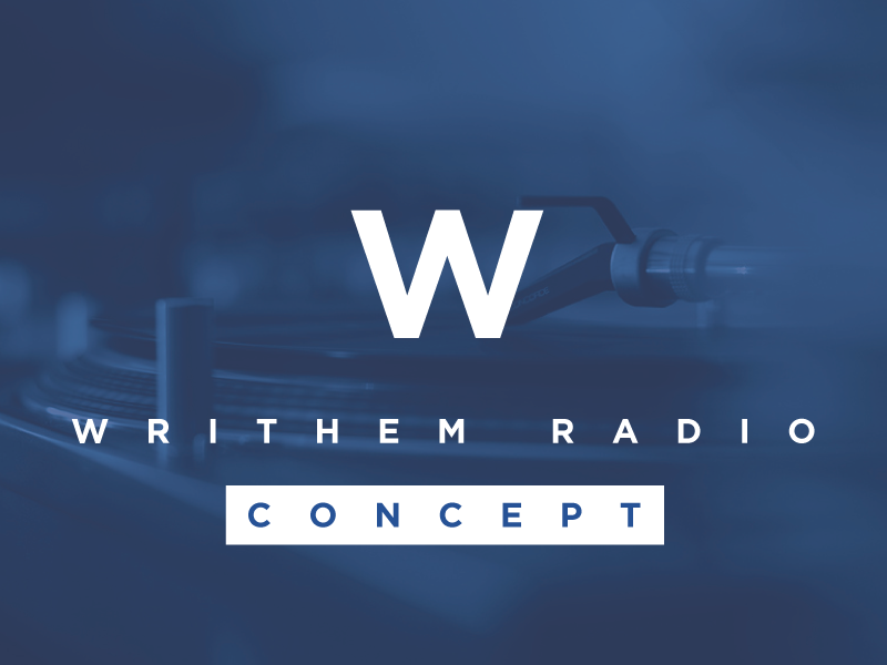 Writhem Radio (Concept) writhem player music blur minimal rdio apple ios programming electronic radio