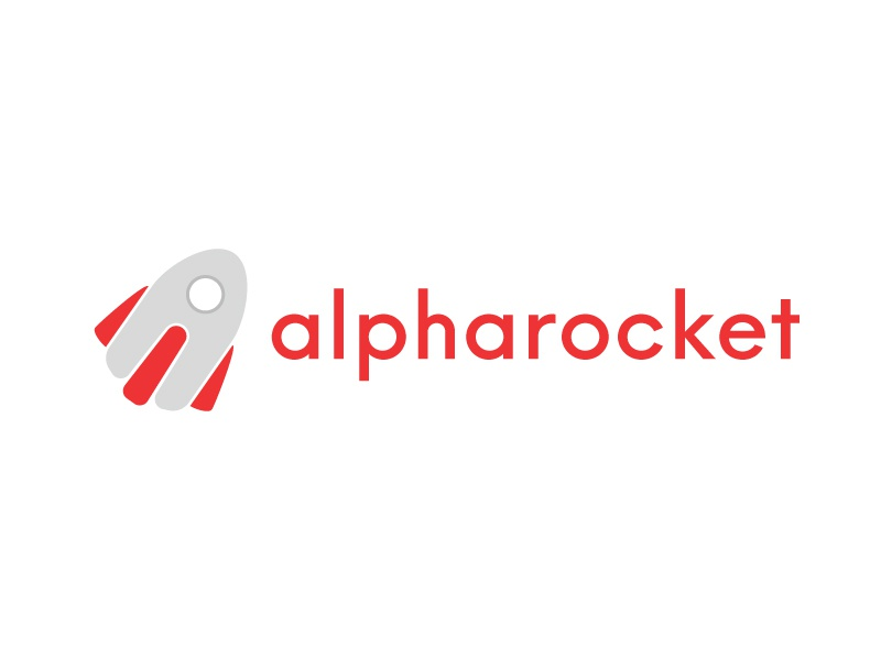WIP Concept Alpharocket concept wip work in progress hypercompact launch logo brand sketch a rocket alpha