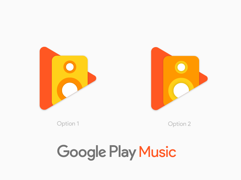 Google Play Music Redesign Alt by Rohan Bhangui on Dribbble