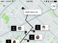 Uber pool party